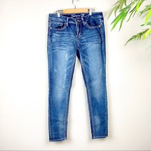 7 FOR ALL MANKIND Skinny Jeans, Size 8